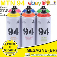 MTN MONTANA 94 - SPRAY PAINT CAN - WRITING 6 PACK COLORI A SCELTA