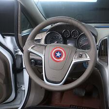 60mm Captain America Badge Emblem Logo Steering Wheel Sticker Hub Cap Decals Car