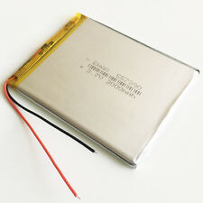 3.7V 3000mAh li polymer Rechargeable Battery For Power bank PAD tablet PC 557390