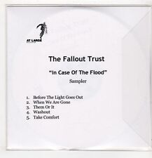 (GU500) The Fallout Trust, In Case Of The Flood sampler - DJ CD