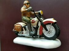 Dept 56  Christmas in the City HARLEY DAVIDSON, Ready For The Road #58907 NEW!