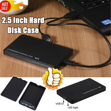 """2.5"""" Portable HDD SSD Case Sata to USB 3.0 Hard Drive Box Enclosure Adapter BR"""