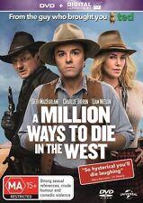 A Million Ways To Die In The West (DVD, 2014) regions 2,4,5