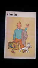 Tintin Carte Postale Juventud espagnole années 60 vierge quasi neuve papier fin