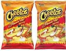Cheetos Flamin Hot Crunchy 2 Big Bag Pack