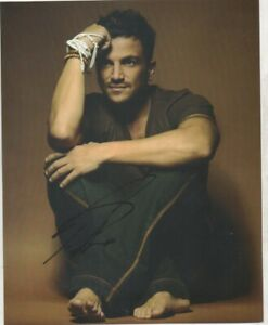 10 x 8   hand signed PETER ANDRE - AFTAL COA  - undedicated -