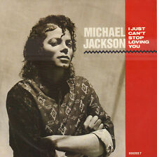 "MICHAEL JACKSON ‎– I Just Can't Stop Loving You (1987 SINGLE 7"" HOLLAND)"