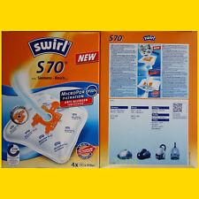 4 Beutel Swirl S 70 MicroPor Staubsaugerbeutel S70 frei Haus Warensendg