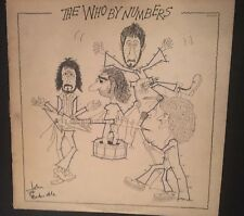 The Who ‎{By Numbers} MCA-2161 Vinyl 1975 Record Album FREE SHIPPING!