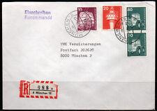 0147# Ebf Einschreiben R-Brief von München 12 vom 19.05.1978