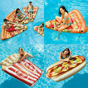 Giant Blow Up Inflatable Food Sun Swimming Lilo Longer Pool Beach Bed Air Float