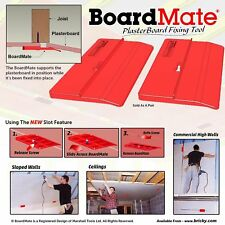 Boardmate Drywall Installation Tool Supports The Board In Place While Securing