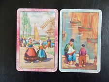 Swap playing cards   1 pair  Dutch People