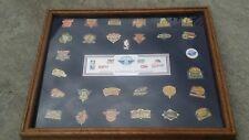 NBA Vintage Team Collection Pin Set   Complete Set
