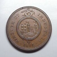 1811 Great Britain - Bristol & South Wales Penny Token, D-10.3.