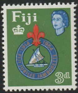 1964 Fiji SC# 206 - 50th Anniv. of the Founding of the Fiji Boy Scouts - M-LH