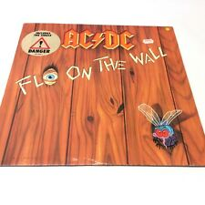 AC/DC 'Fly On The Wall' 1985 Vinyl LP VG++ Very Nice Clean Copy with Inner
