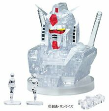 NEW Beverly Crystal 3D Puzzle RX-78-2 Gundam Clear from Japan