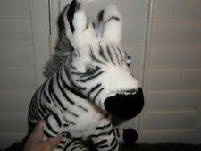 Magnussen Homes Large Plush Stuffed Top Quality Zebra Gorgeous Super Soft Xlnt