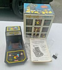 PAC-MAN official Midway Coleco 1981 vintage in box works arcade Table top mini