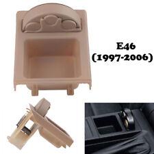 Beige Coin Case Storage Box Holder Container for BMW 3 Series E46 Sedan 97-06