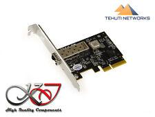 Carte Réseau PCIE - 10 GB - 1 PORTS SFP+ CHIPSET TEHUTI NETWORKS TN4010 10G