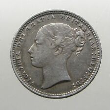 QUEEN VICTORIA SILVER SHILLING____Great Britain____MINTED 1872____63 Year Reign
