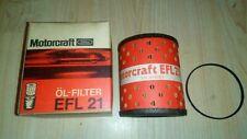 Motorcraft efl21 oil filter