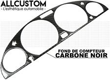 FOND COMPTEUR FIBRE CARBONE NOIR TABLEAU DE BORD pour BMW E46 SERIE 3 1998-06 M3