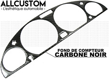 BLACK CARBON FIBER DASHBOARD PANEL SPEEDOMETER for BMW E46 3 SERIES & M3 1998-06