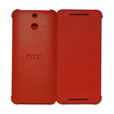 HTC HC V980 Case Cover Schuzt Hülle Flip Case für One (E8) red