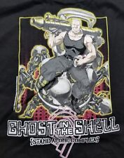 Vintage Ghost In The Shell Stand Alone Complex Black Anime Shirt XL FASHION ODST