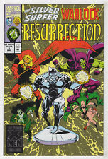 Silver Surfer Warlock Resurrection #1 (Mar 1993) [Infinity Watch] Jim Starlin XB