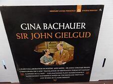 Gina Backaurer Sir John Gielgud Gaspard De La Nuit SR-90391 33rpm 081516DBE