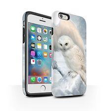 Elena Dudina Matte Tough Case Apple iPhone 6S+/Plus/The Birds/Winter Owls/Artic