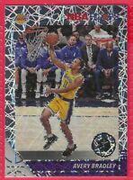 2019-20 NBA Hoops Premium Stock Avery Bradley Laser Prizm #91 Los Angeles Lakers
