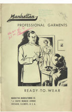 VINTAGE 1930s DOCTOR/PHYSICIAN/SURGEON PROFESSIONAL GARMENT CATALOG! SMOCKS/COAT