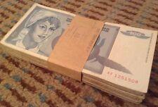 BANCONOTA JUGOSLAVIA Bundle. 100 x 100 Dinara. DATATO 1992.