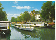 Amsterdam/Holland Postcard - Prinsengracht - With Houseboats - Ref ZZ5875