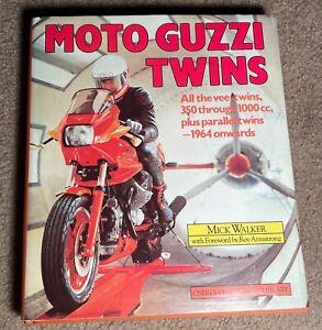 1988 MOTO GUZZI TWINS HARDCOVER BOOK DJ OSPREY COLLECTOR'S LIBRARY 192pgs RIDE !