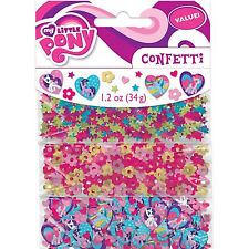 My Little Pony Friendship Birthday Party Confetti Table Decoration Sprinkles