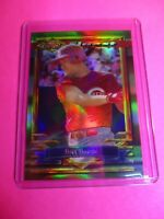 1994 Topps Finest Moment Refractor Bret Boone Card #386 Reds