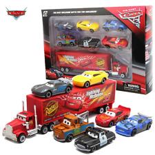 Disney Cars pixar 7PCS/Set Lightning McQueen Jackson Mack Uncle Truck model toys
