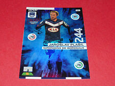 J. PLASIL CESKO GIRONDINS BORDEAUX FOOTBALL ADRENALYN CARD PANINI 2015-2016