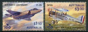 Australia 2021 MNH Aviation Stamps Royal Air Force Centenary Aircraft 2v Set