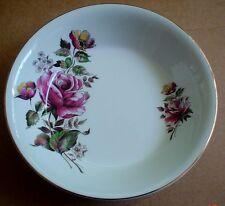 Alfred Meakin Glo White Ironstone Dessert Bowl Rose Design