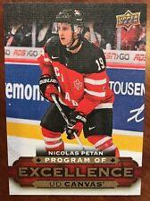 2015-16 UD Hockey Series 2 Canvas Program Of Excellence Nicolas Petan #C263