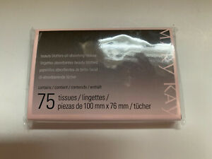 Mary Kay Beauty Blotters Oil-Absorbing 75 Tissues; New Sealed; Free Shipping