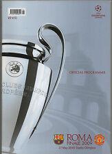 Orig. Prg CAMPEÓN. Liga 08/09 final FC Barcelona-Manchester United!!! Raro