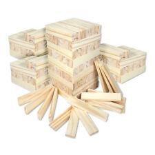Schramm® 300 Stück Holzbausteine für Kinder Holzklötzer Holz Klötzer Bausteine P